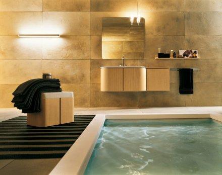 Moderno giorno arredo bagno - Arredo bagno di lusso ...